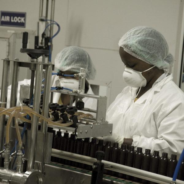 Fulvimed - Plant Bottling Line