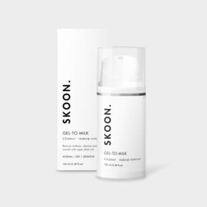 SKOON GEL-TO-MILK Cleanser + Make-up Remover