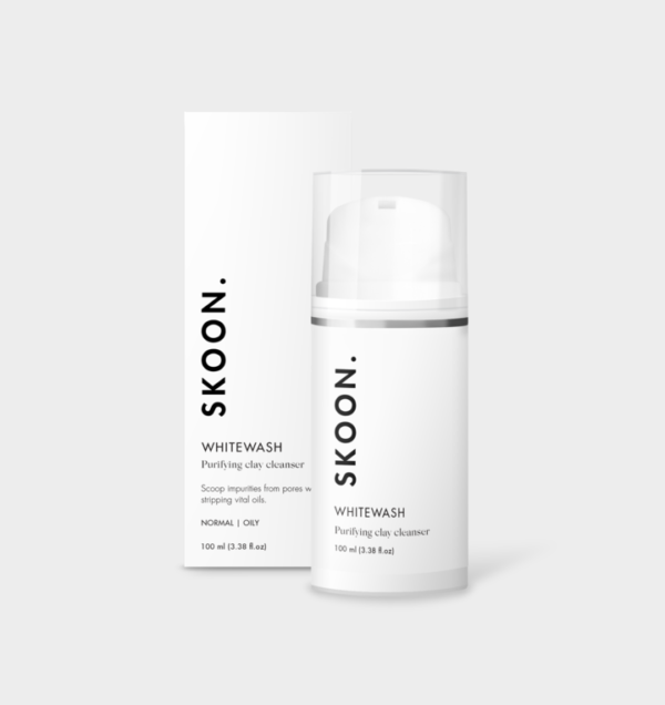 SKOON WHITEWASH Purifying Clay Cleanser - 100ml