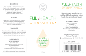 Ful.Health Wellness Lotion - 125ml